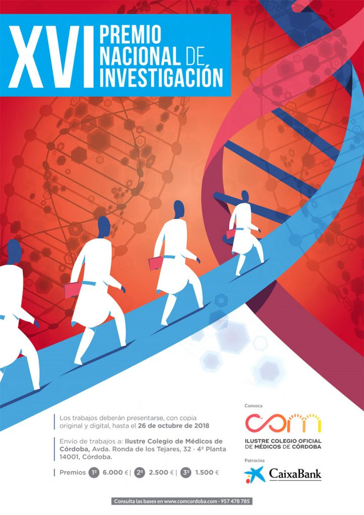 XVI Premio Nacional de Investigación dirigido a médicos colegiados en España.
