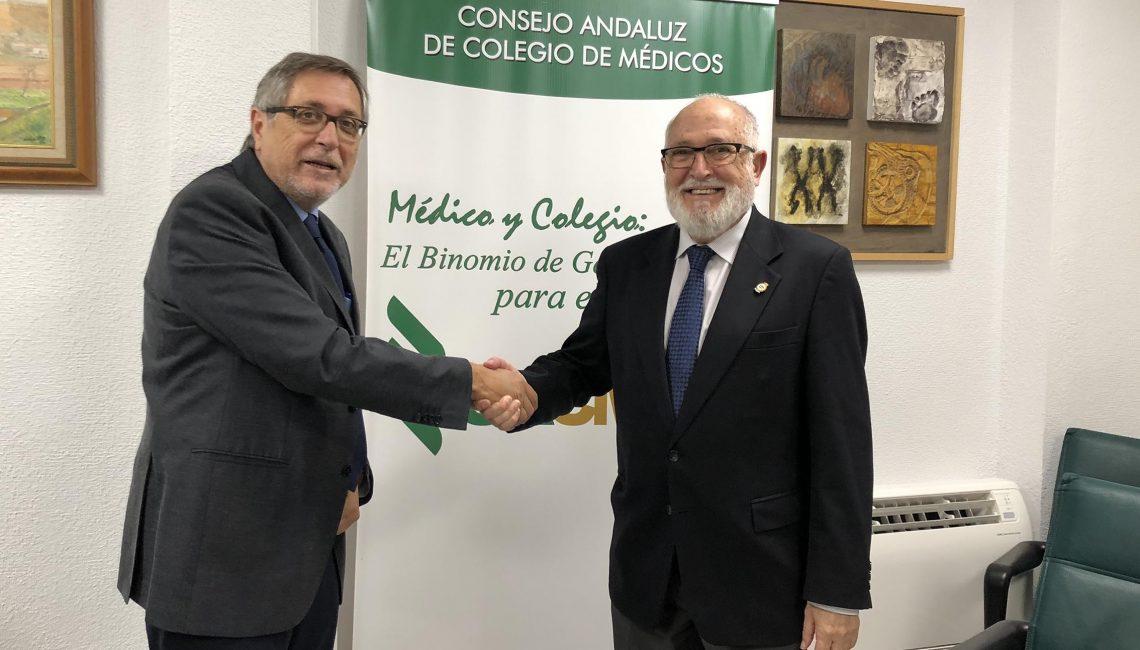 El consejo andaluz de colegios de m dicos y la agencia de - Acsa granada ...