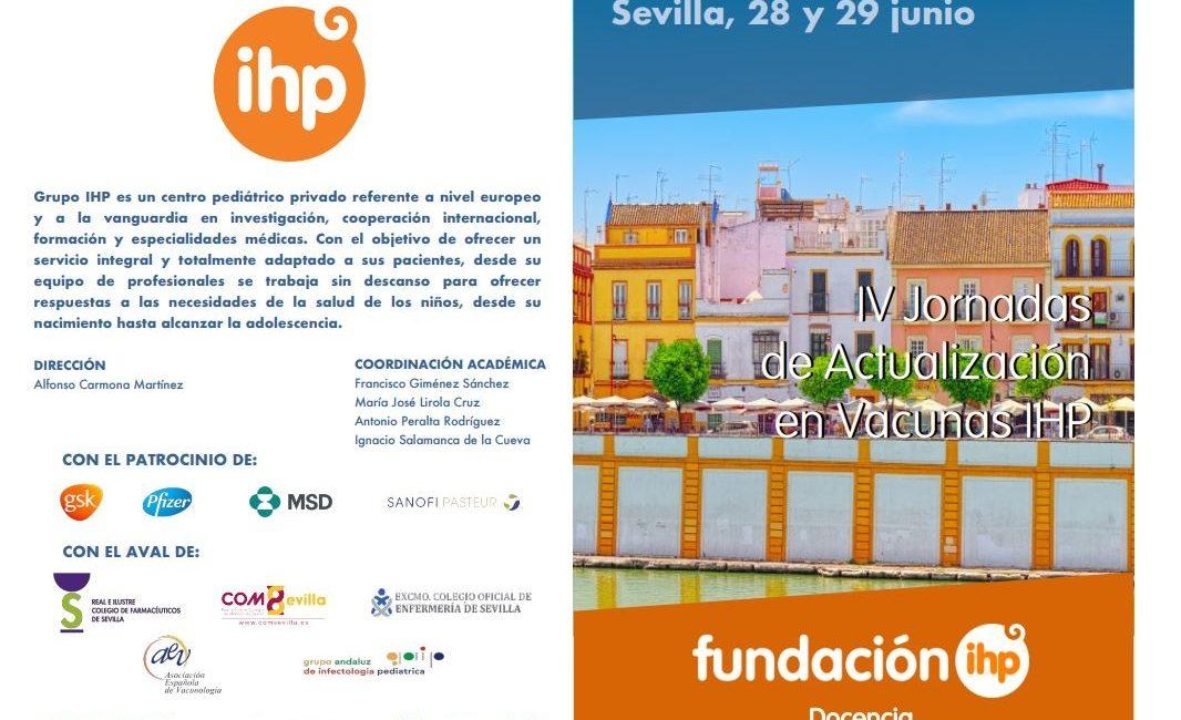 Calendario Vacunal Andalucia 2019.Iv Jornadas De Actualizacion En Vacunas Ihp 28 Y 29 De Junio En